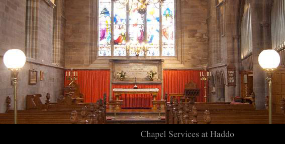 Chapel Services at Haddo
